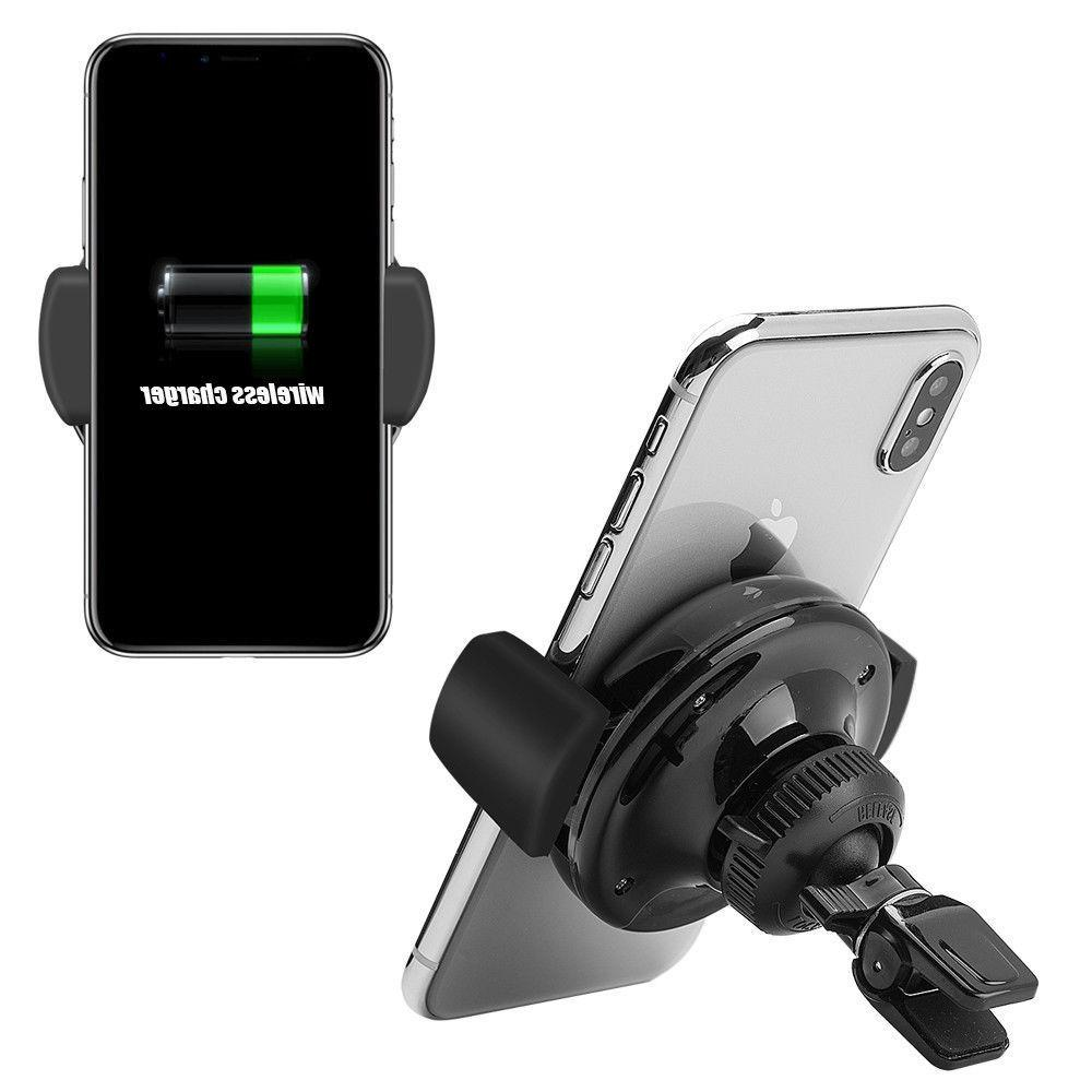 Qi Charger Car Vent Dock Charging US