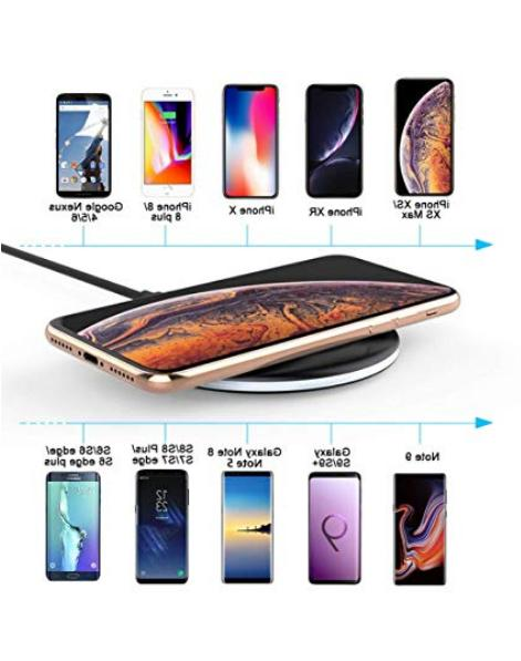 Yootech Qi Charger, Iphone Samsung 9