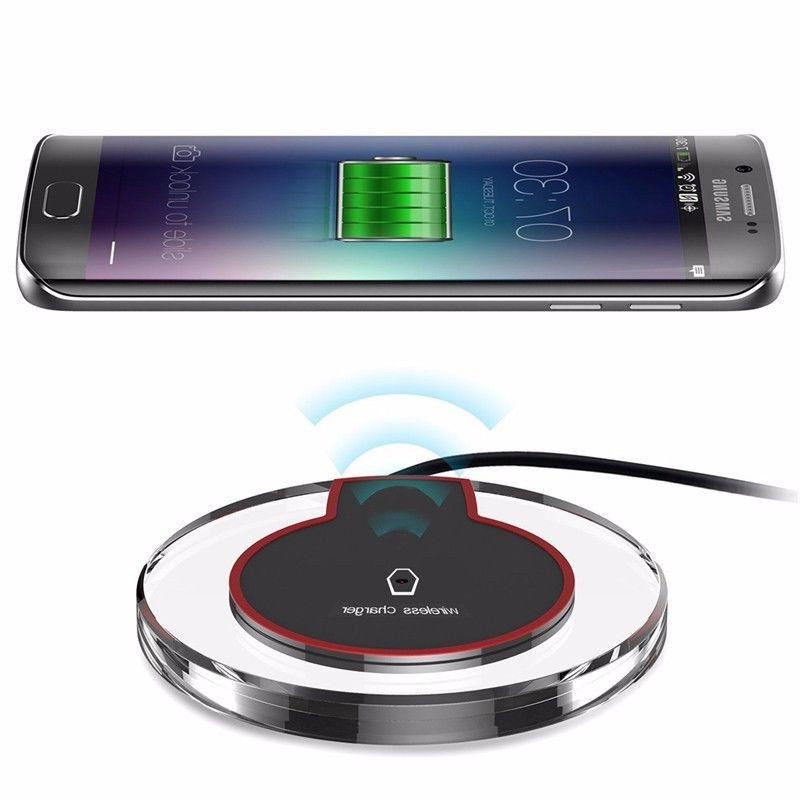 Qi Wireless Pad For iPhone Galaxy 9/S10