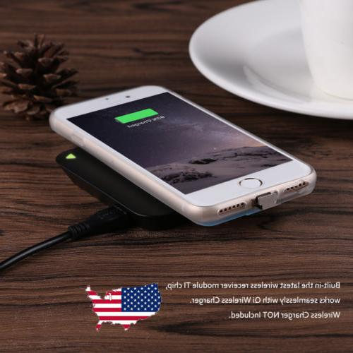 Qi Wireless Charger Pad or Charging Receiver Case Cover For