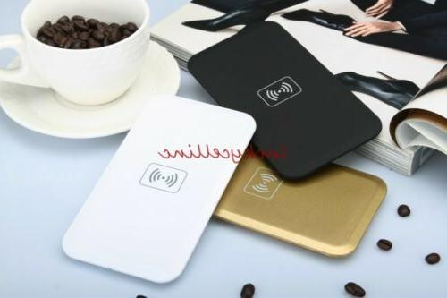qi wireless charger pad receiver for iphone