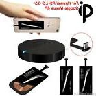 Qi Wireless Charger+Type-C Sticker Receiver For Huawei For N