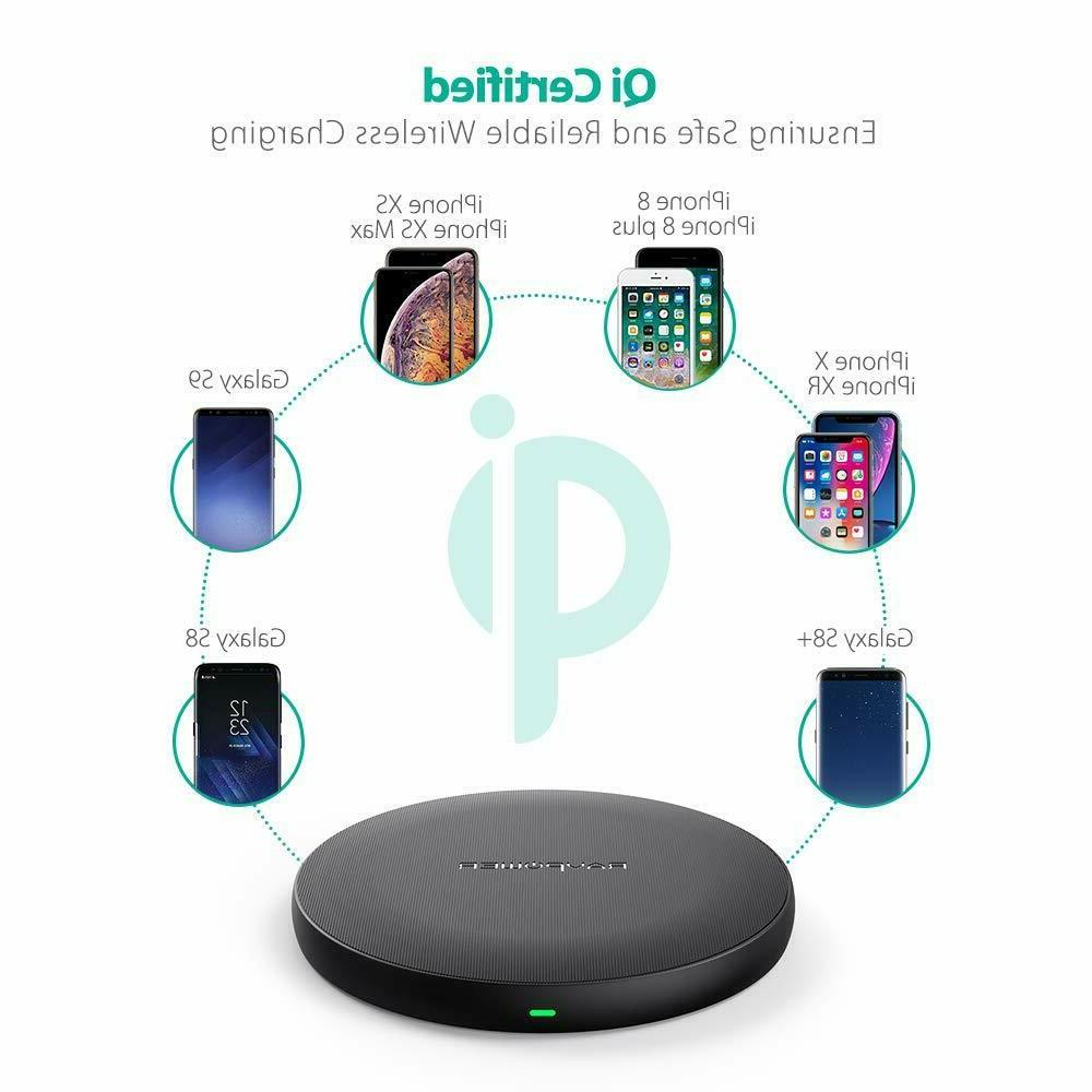 Qi Wireless RAVPower Qi Certified Wireless Charger