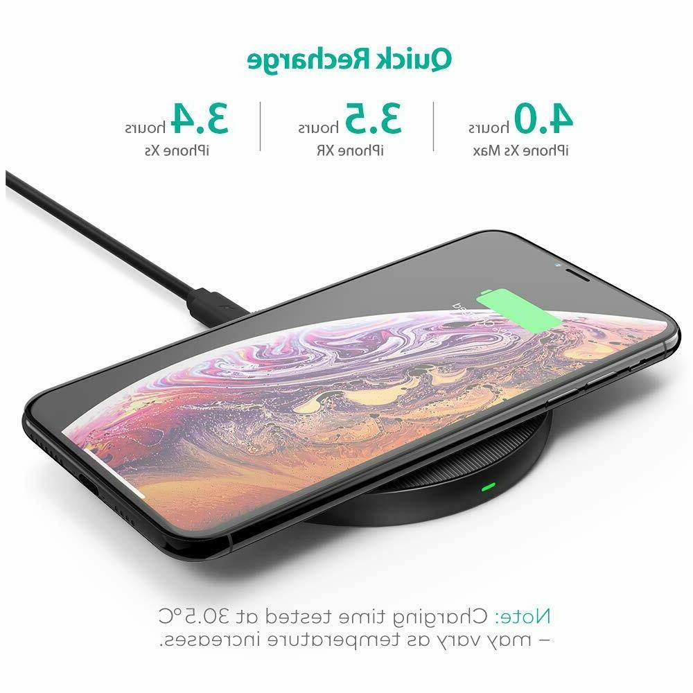 Qi Wireless Charging Pad RAVPower Qi Certified Wireless Charger
