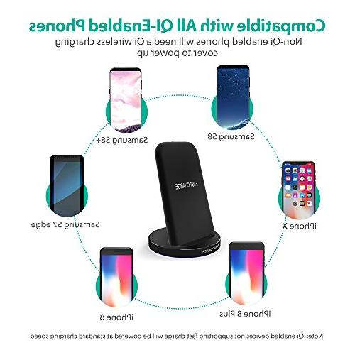 Wireless 10W Pad , Charge Compatible S9 S7 Standard Compatible XR