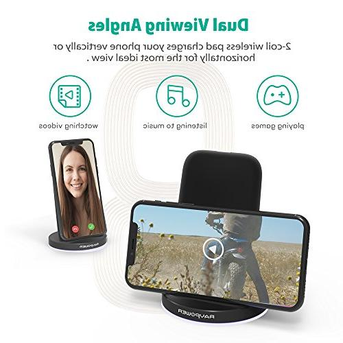 Wireless Charger 10W Wireless Pad S7 & Compatible XS XR X