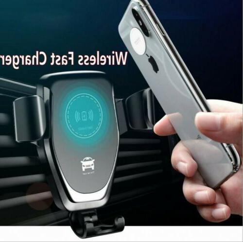 Automatic Clamping Car Charger For
