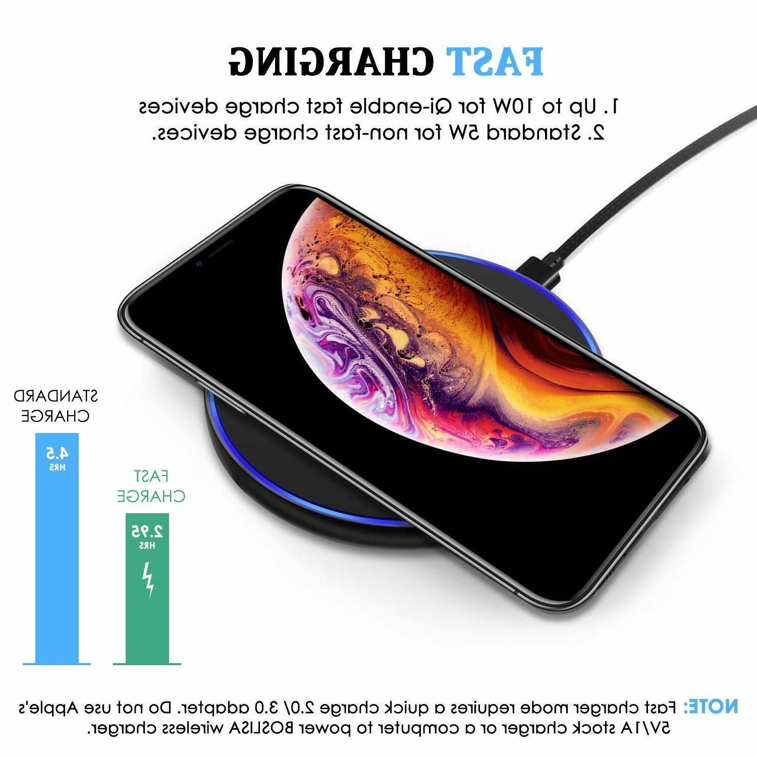 Qi Charger Charging Pad Iphone Samsung Galaxy