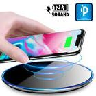 QI Wireless Fast Charger Charging  Pad Mat Dock for iPhone X