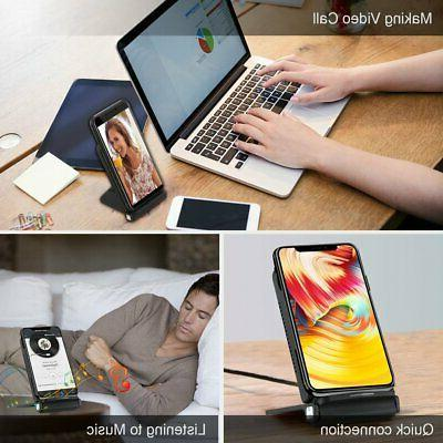 Qi Wireless Fast Charging Dock For US
