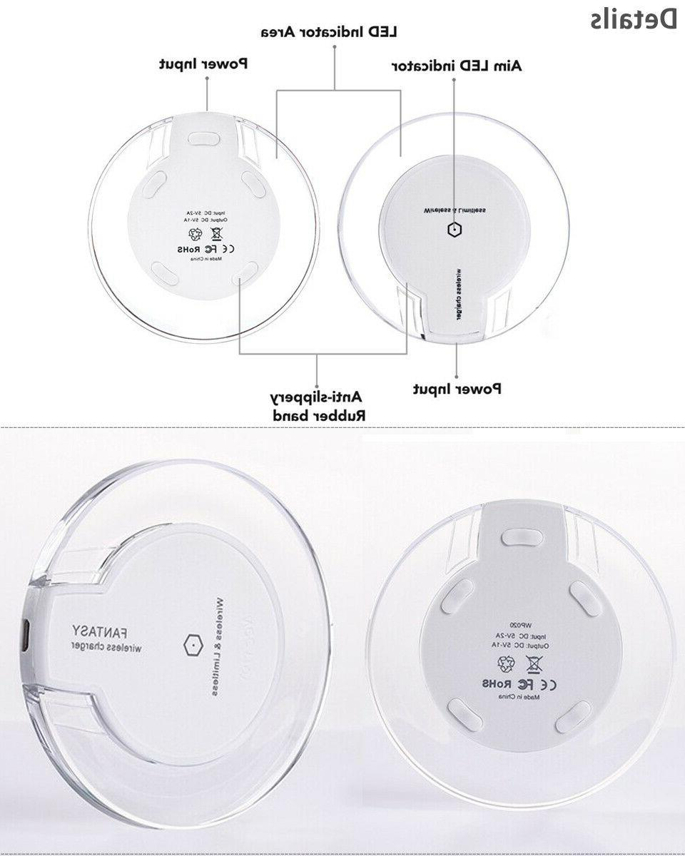 Qi Charger Charging Note
