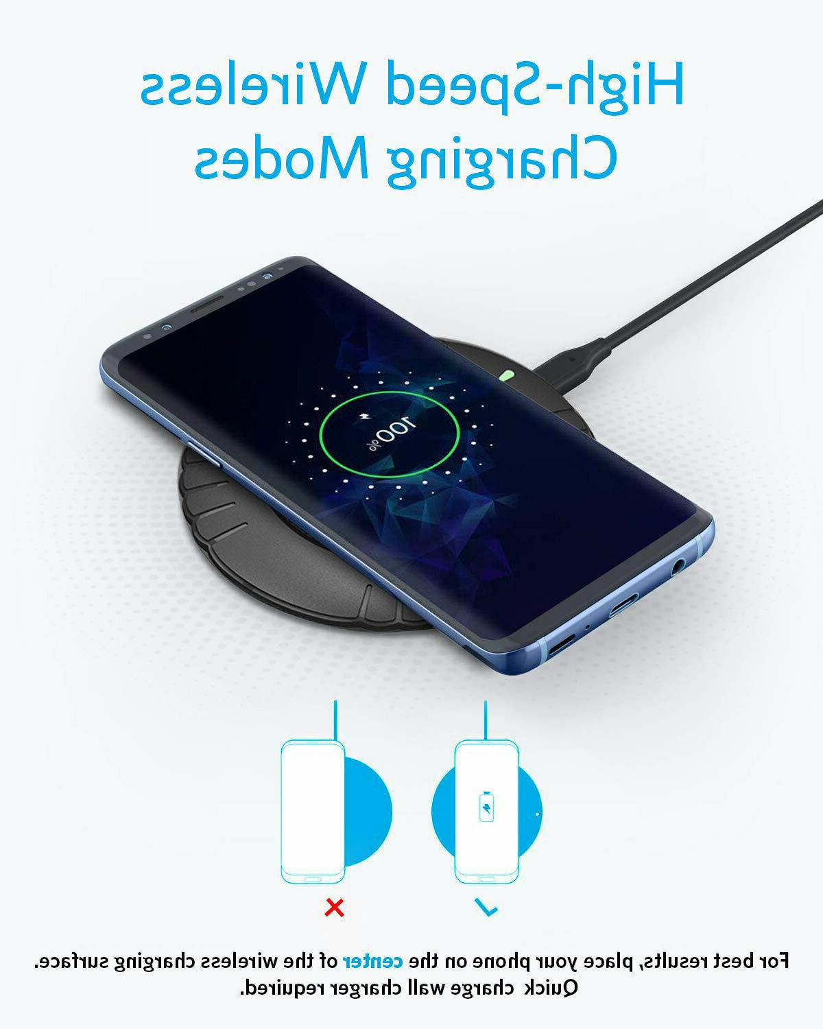 Qi Phone Charging For iPhone 8 11 XR Samsung S7