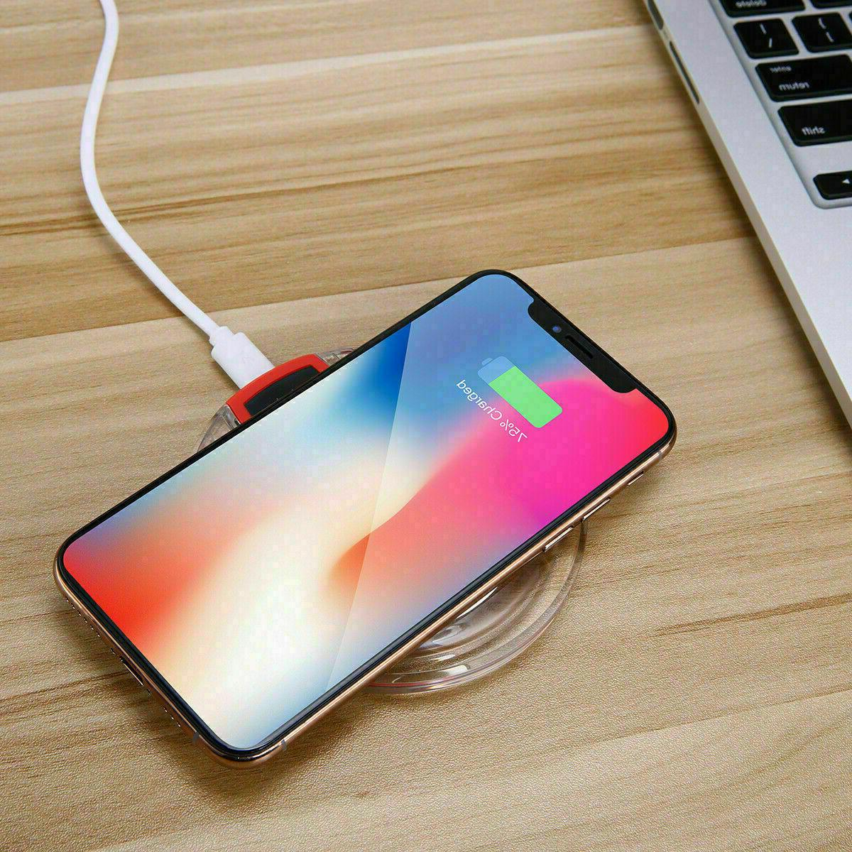 qi wireless fast charging pad and receive