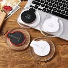 Qi Wireless Fast Charging Pad Desktop Charger For iPhone X /