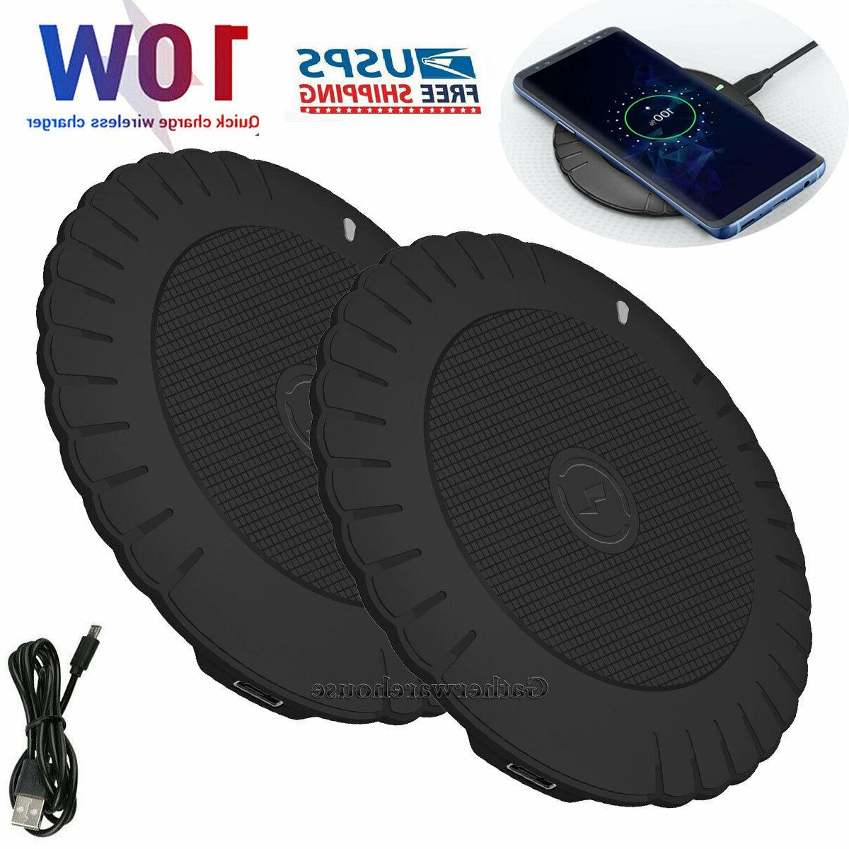 qi wireless phone charger charging pad