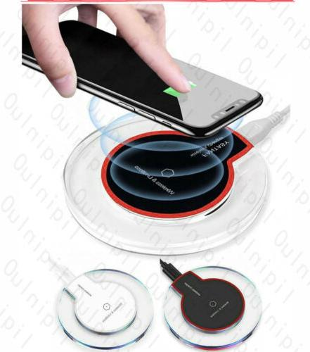 qi wireless phone charger pad for iphone