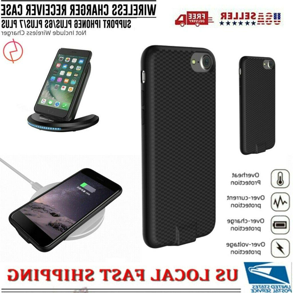 qi wireless receiver charger case cordless charging