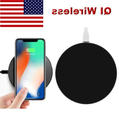 QI Wireless Ultra Slim Charger Charging Pad ABS Frame For Sm