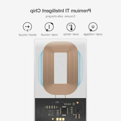 RAXFLY Qi C Receiver Adapter For Oneplus 5T Xiaomi Mi A1 M
