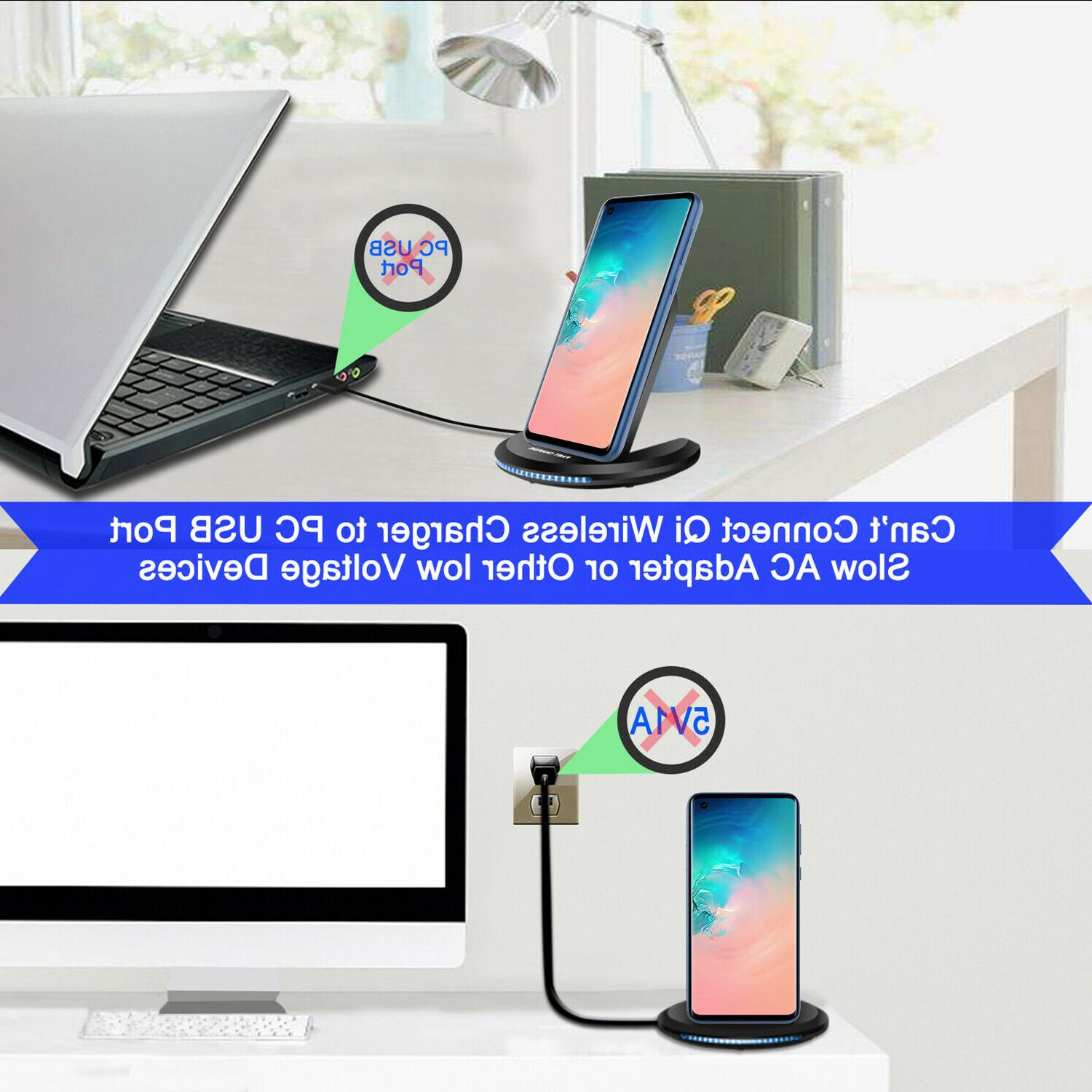 For Samsung Plus/Note 9 Wireless Fast Charging