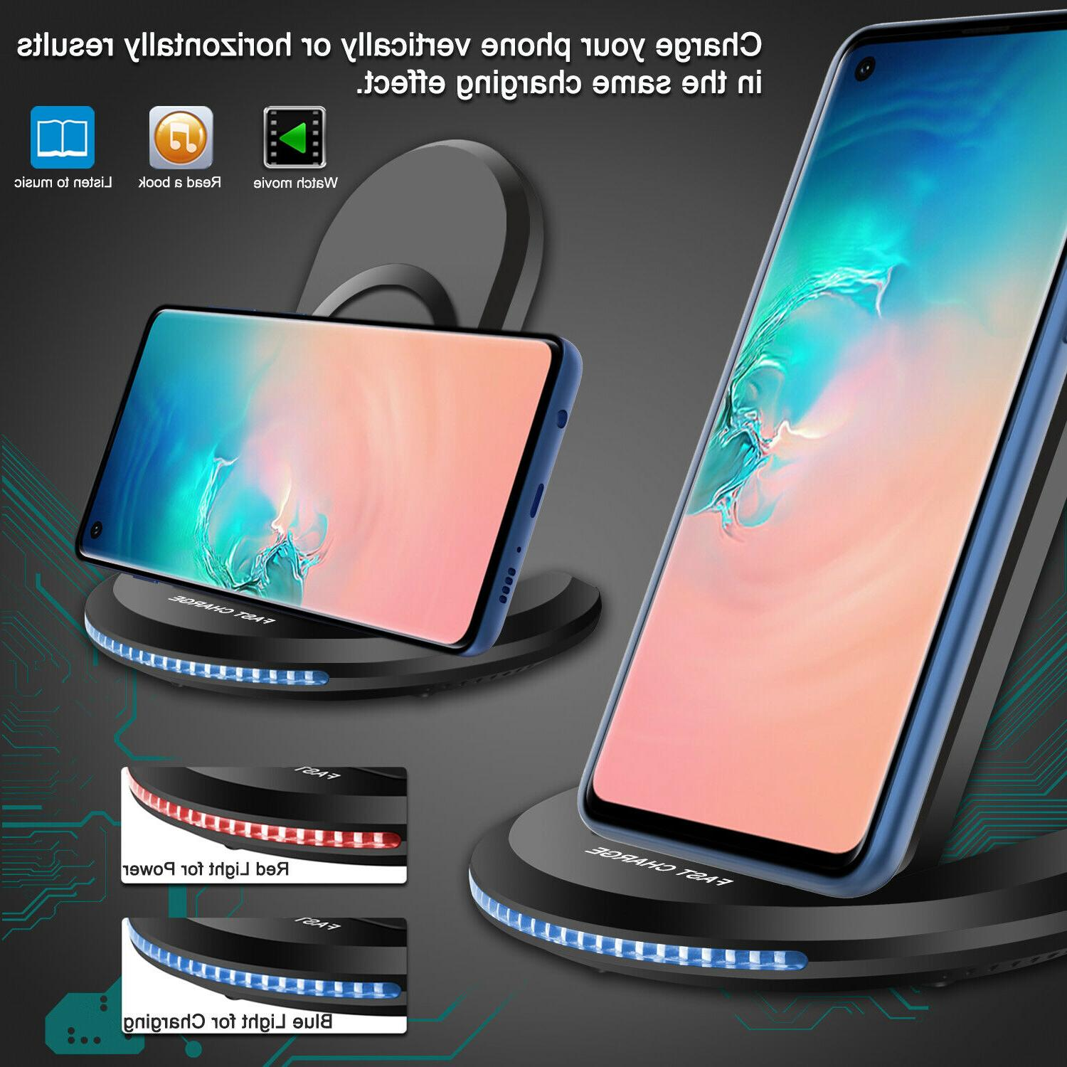 For Galaxy Plus/Note 9 Qi Wireless Fast