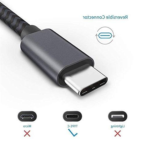 Short USB Cable, Fast Charger, Braided Galaxy Plus XL 3XL,Switch,Power Bank and More