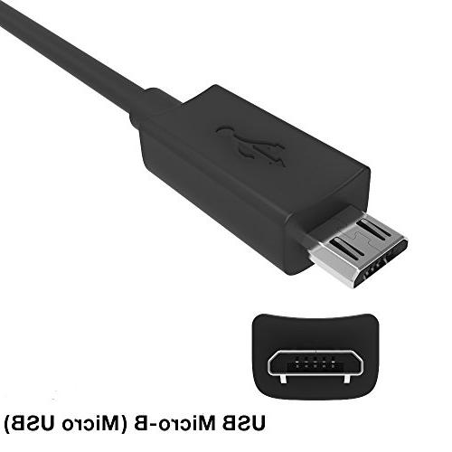 Motorola Micro-USB Data/Charging Cable Original TurboPower 15 - Supports Quick Charge QC