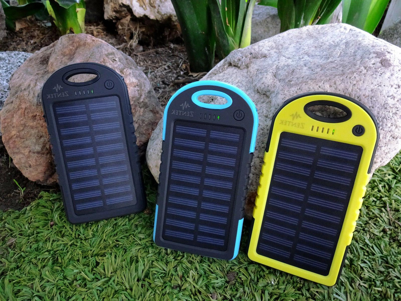 Solar Charger Portable Battery Pack Backpack For iPhone 6, C