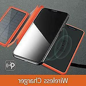 Solar Charger Charger Portable 20000mAh Waterproof