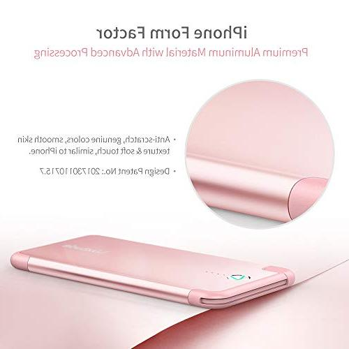 Luxtude Ultra-Slim Gift Portable MFi Lightning Cable High-Speed Charging External Only iPhone XS/XR/X/8/8 Plus/7/7