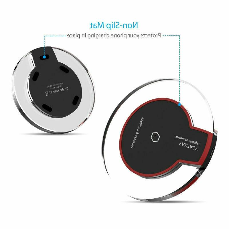 Ultra-Slim Qi-Certified Charger Fast US