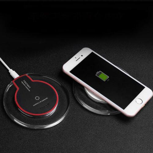 Ultra-Thin Qi Wireless Fast Charging Charger Pad Mat Dock fo