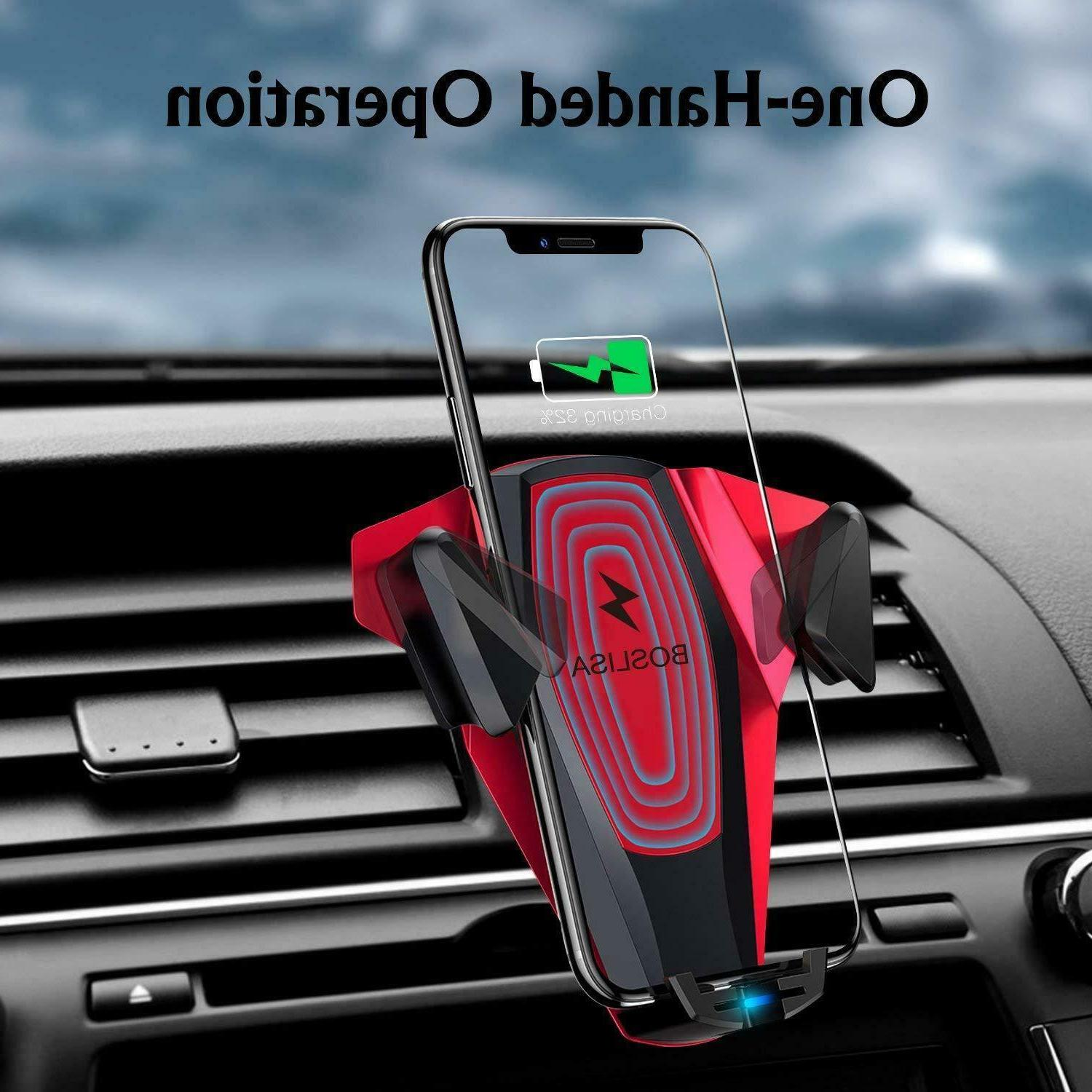 Universal Mount & Wireless Fast Charger Cell Phone