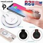 Universal Qi Wireless Charger Pad Mat Receiver For Apple iPh