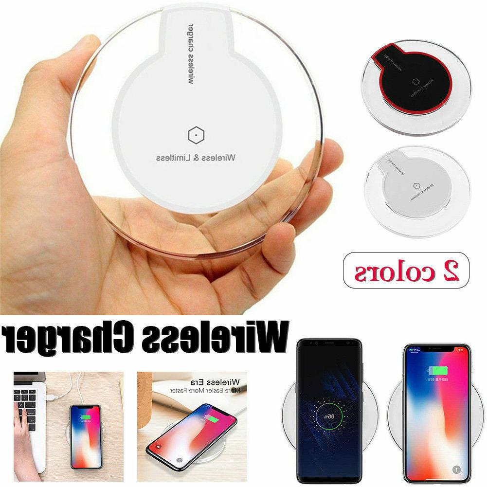 Qi Wireless Fast Charger Pad Charging Dock for iPhone XS Max