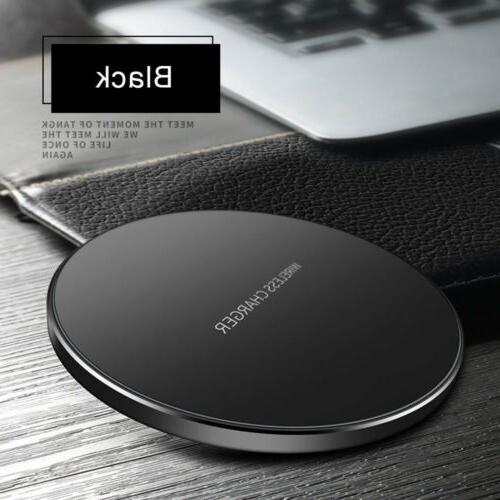 US Fast Qi Wireless Charger Charging Mat iPhone 8