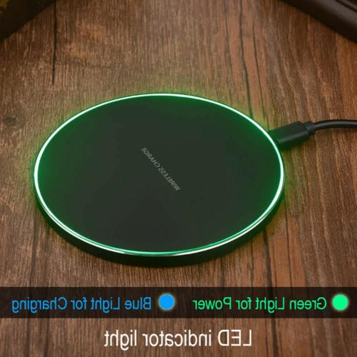 Wireless Charger Charging Mat For Samsung iPhone 8 XS