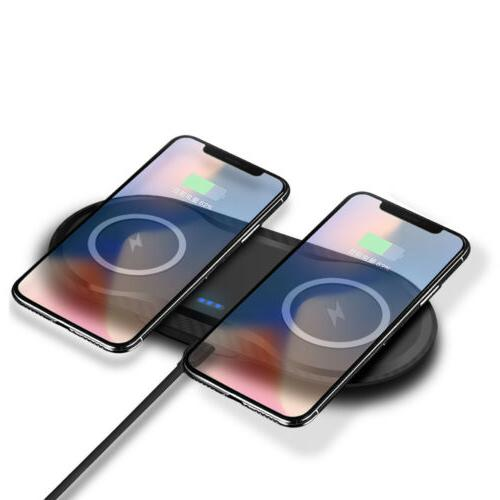 us qi wireless charger phone charging mat