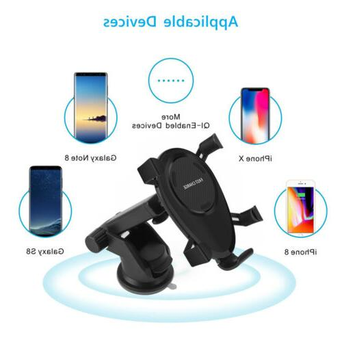 US Qi Car Dock For Samsung S10 Note