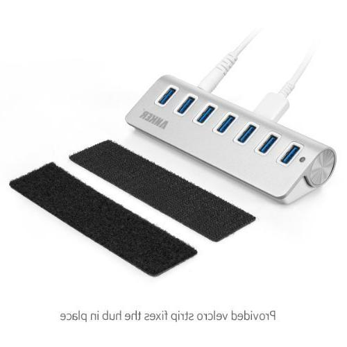 Anker USB Aluminum Hub 20W and 3 Mac, PC, USB Flash Drives and Other