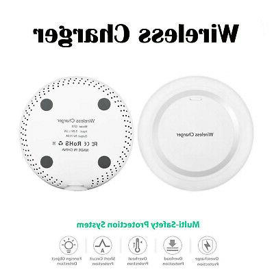 White Qi Wireless Battery Charger Charging Pad for Nokia Lum