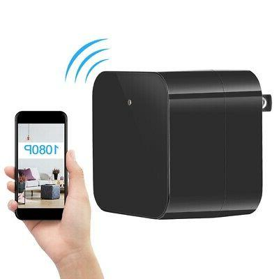 WIFI Spy Camera Charger Security Nanny US