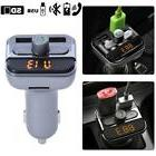 Wireless Bluetooth Car Kit FM Transmitter Audio SD MP3 Playe