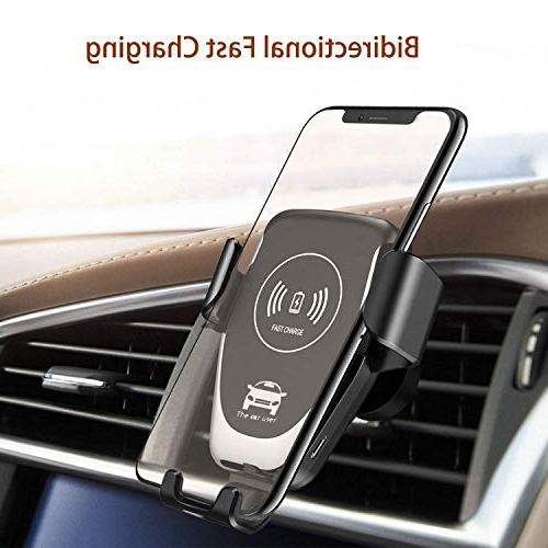 wireless car charger mount qi