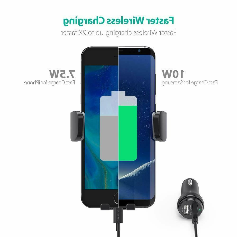RAVPower Wireless Car Charger Mount