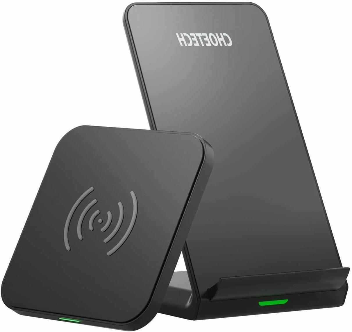wireless charger 2 pack qi certified 10w