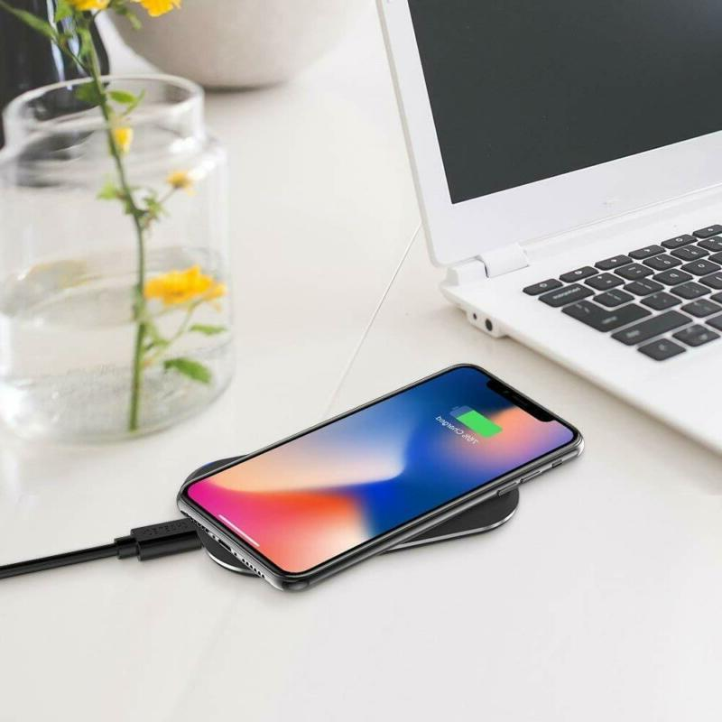 CHOETECH Wireless Charger, Coils Certified Fast Wireless Pad