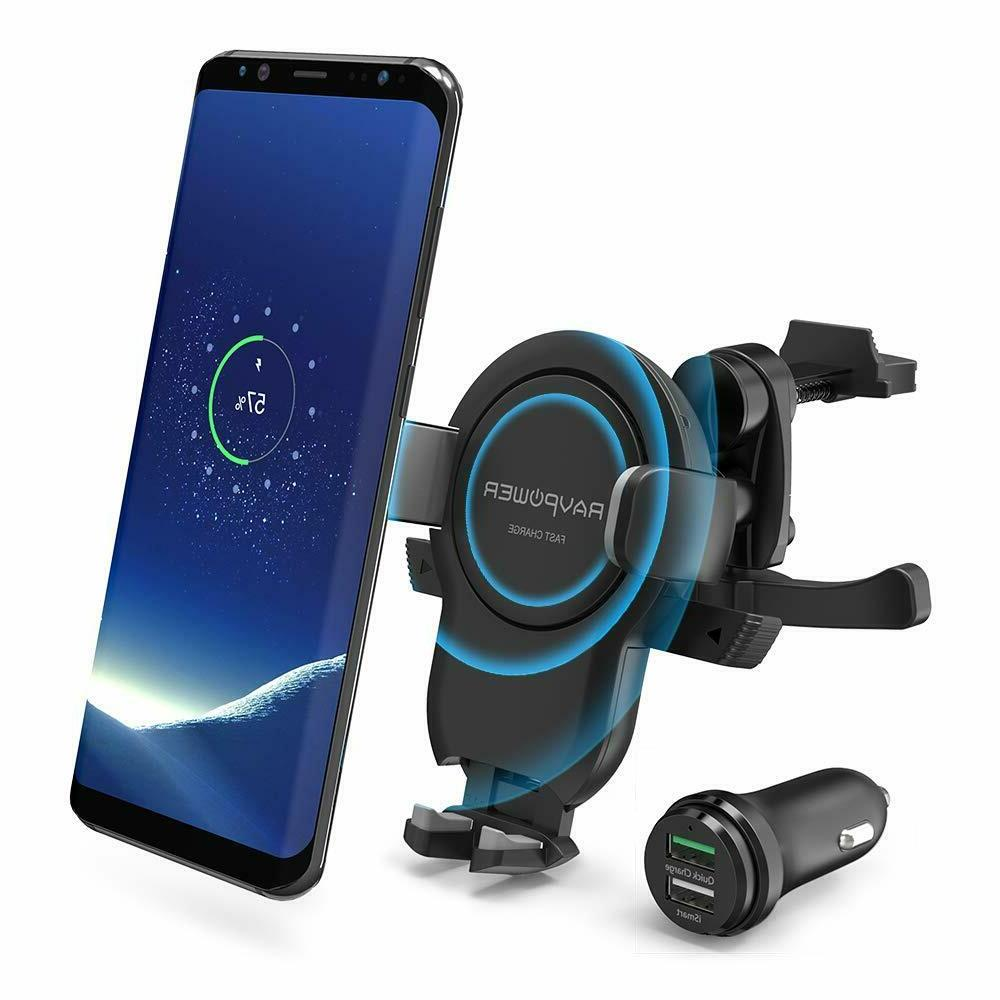 wireless charger car mount power fast charge