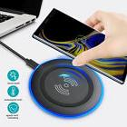 Wireless Charger Charging Pad For iPhone X 8 Plus Galaxy S9