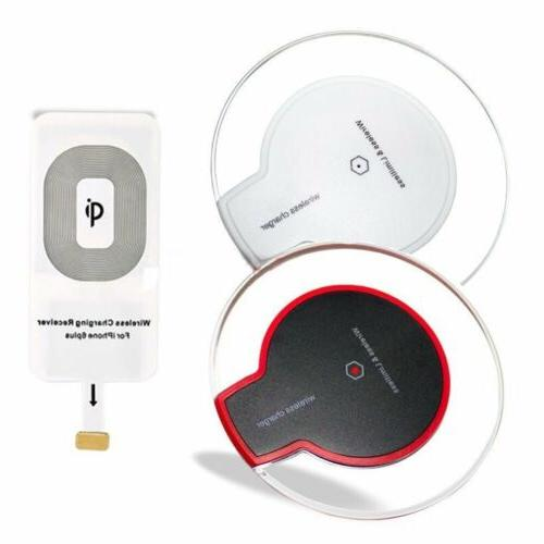 Qi Wireless Charger Charging Pad Mat Receiver iPhone